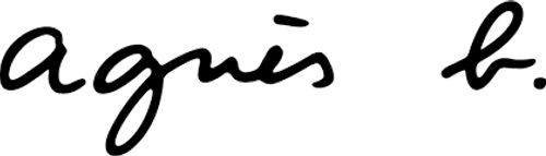 logo agnès b. preprod